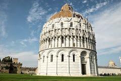Pisa baptysterium Baptistery St John Zdjęcie Stock