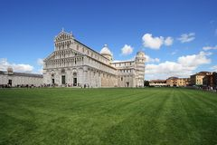 Pisa,  Basilica and leaning tower Royalty Free Stock Photos