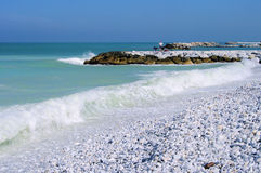 Pisa beach Royalty Free Stock Photography