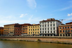 Pisa buildings Royalty Free Stock Images