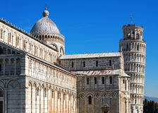 Pisa Cathdral, Italy. Famous italian landmark, photo was taken in February Royalty Free Stock Images