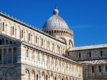 Pisa Cathdral, Italy. Famous italian landmark, photo was taken in February Royalty Free Stock Photo