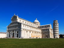 Pisa Cathdral, Italy. Famous italian landmark, photo was taken in February Stock Image