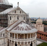 Pisa Cathedral From Above Stock Images