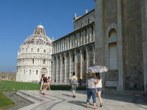 Pisa Cathedral and Baptistery Stock Photo