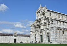 Pisa Cathedral and Camposanto Monumentale Stock Photo