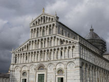Pisa Cathedral Duomo di Pisa on Piazza dei Miracoli in Pisa, Tuscany, Italy. Architecture and landmark of Pisa Royalty Free Stock Image