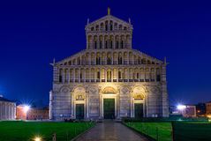 Pisa Cathedral (Duomo di Pisa) on Piazza dei Miracoli in Pisa, Tuscany, Italy Stock Images