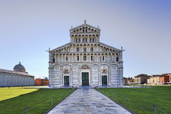 Pisa Cathedral Facade Royalty Free Stock Photography