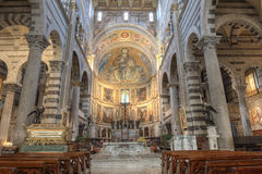 Pisa Cathedral Interior, Italy Stock Photography