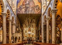 Pisa Cathedral Interior Stock Image