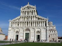 Pisa Cathedral in Italy Stock Images