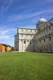 Pisa Cathedral in Italy in summertime Royalty Free Stock Photos