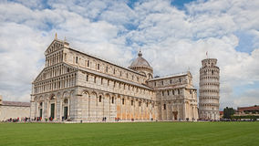 Pisa - Cathedral and leaning tower Stock Photo