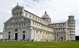 Pisa Cathedral and Leaning Tower Stock Photography