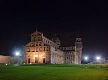 Pisa cathedral night Stock Photo