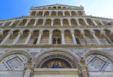 Pisa cathedral stock photo