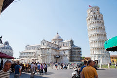 Pisa Cathedral on Piazza del Duomo Royalty Free Stock Images