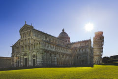 Pisa Cathedral Side sun Royalty Free Stock Photo