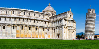 Pisa Cathedral at the square of miracles, Tuscany, Italy Royalty Free Stock Images