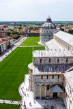 Pisa Cathedral at the square of miracles, Tuscany, Italy Royalty Free Stock Photography