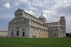 Pisa cathedral and tower Stock Photography