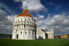 Pisa chapel. View on the pisa chapel in Italy Royalty Free Stock Photos