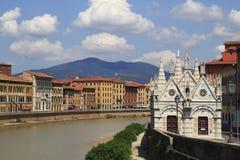 Pisa city view Royalty Free Stock Photo