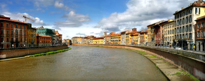 Pisa cityscape. Royalty Free Stock Photo