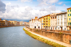 Pisa cityscape view Royalty Free Stock Images