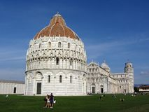 Pisa Complex in Italy Royalty Free Stock Photo