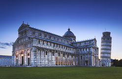 Pisa Complex Side Rise Royalty Free Stock Photo
