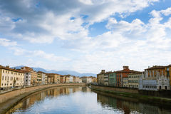 Pisa day view, Tuscany, Italy Royalty Free Stock Photography