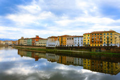 Pisa day view, Tuscany, Italy Royalty Free Stock Image
