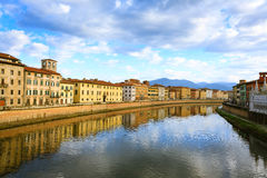 Pisa day view, Tuscany, Italy Stock Image