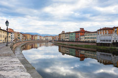 Pisa day view, Tuscany, Italy Royalty Free Stock Images
