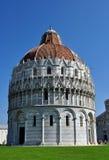 Pisa - de Doopkapel van St John Stock Fotografie