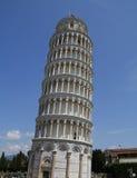 pisa Der lehnende Kontrollturm Stockbilder