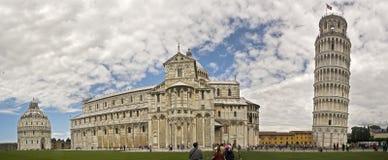 Pisa, die Statue von Garibaldi, Pisa-Kathedrale Stockfotografie