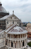Pisa Dome From Above Royalty Free Stock Photos