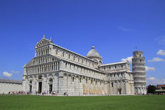Pisa. The Dome and leaning tower Stock Photo