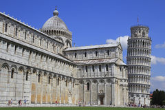 Pisa. The Dome and leaning tower Royalty Free Stock Photography