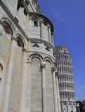 Pisa. The Dome and leaning tower Royalty Free Stock Photo