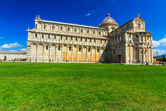 The Pisa dome near leaning tower,Italy,Europe Royalty Free Stock Photo