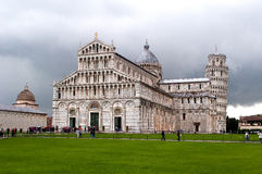 Pisa domkyrka (Duomodien Pisa) Royaltyfria Bilder