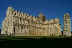 Pisa domkyrka och Campenille Royaltyfria Bilder
