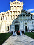 Pisa domkyrka, piazzadei Miracoli i Pisa, Tuscany, Italien Royaltyfri Bild