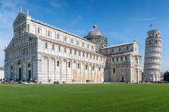 Pisa domkyrka, Tuscany, Italien Arkivbilder