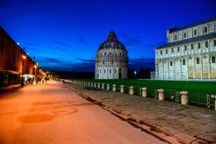 Pisa - Doopkapel, Kathedraal, Italië Royalty-vrije Stock Fotografie