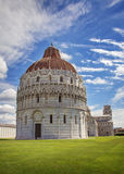 Pisa dopkapell Royaltyfria Bilder